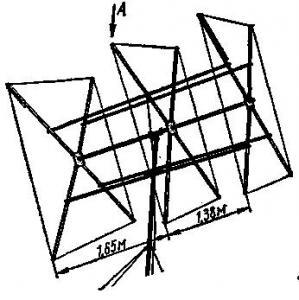 Антенна Тройной квадрат