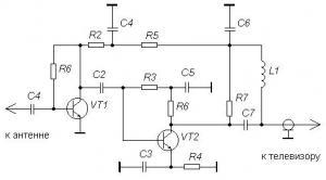 Антенные усилители для широкополосных антенн