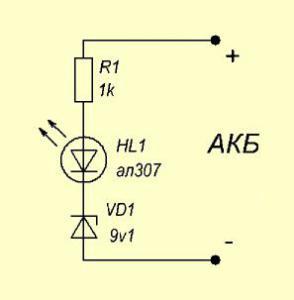 Простейший разрядник для аккумуляторных батарей дешёвых китайских шуруповёртов (3 детальки)