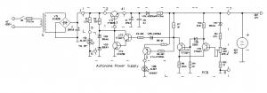 Устройство автоматической подзарядки аккумулятора (12В, ёмкостью 4А/ч)
