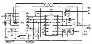 Преобразователь напряжения 40в/5в с током нагрузки 10а