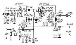 Ламповый передатчик на 144 МГц