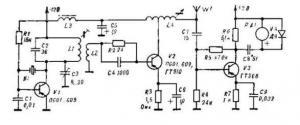 Передатчик диапазона 3,5 МГц для охоты на «лис»
