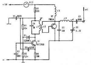 Передатчик на 3,5 МГц