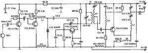 Радиопередатчик большой мощности диапазона 67...73 МГц