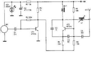 Радиопередатчик с AM в диапазоне частот 27 - 28МГц