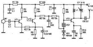Радиопередатчик с кварцевой стабилизацией частоты диапазона 140...150 МГц