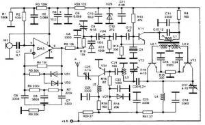 Радиопередатчик с фиксированной частотой 145,68 МГц