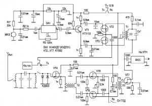 Маленький простой трансивер 2Вт