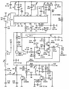 Простая СВ-радиостанция с амплитудной модуляцией (27 МГц)