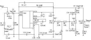 Предварительный усилитель на КМ551УД2