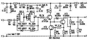 Блок электронного зажигания