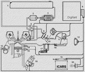 схема электрическая структурная