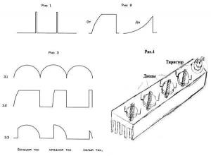 Рисунки 1 - 4. Зарядное устройство для автомобильного аккумулятора.