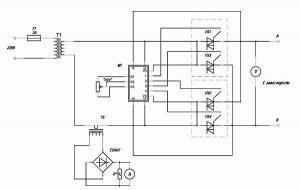 Зарядное устройство для автомобильного аккумулятора без соблюдения полярности