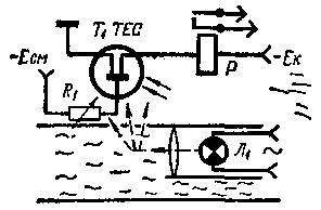 Фототранзистор-индикатор дыма