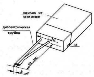 Электрическая зажигалка для газа