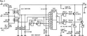 Автоматический коммутатор фаз
