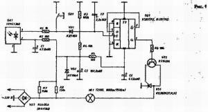 Выключатель освещения с помощью ПДУ