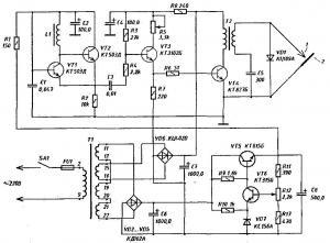 Генератор для электронной гравировки