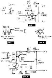 Замена оптотиристора Т0125
