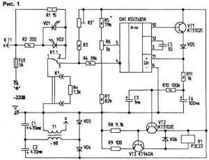 cxema.  Люди оценили.  Удалить схему(Жалоба).  Терморегулятор для паяльника на 220. материал из раздела.