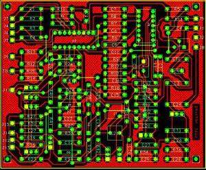 Синтезатор частоты УКВ радиостанции
