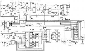 Синтезатор частоты для автомобильной радиостанции диапазона 27 МГц
