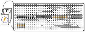 Семисегментный индикатор
