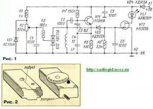ГИР с индикатором на светодиоде