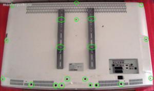 Разборка и ремонт ЖК телевизора Samsung LE40A454C1