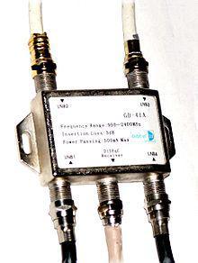 Переключатель для спутниковых конвекторов DiSEqC switch