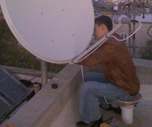 Принцип спутникового вещания