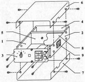 Конструкции универсального корпуса