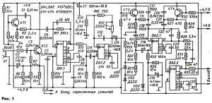"""Схема приставки """"дистошн"""" для электрогитары"""