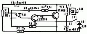 Имитатор звука мотора и гудка автомашины