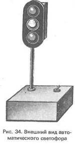 Автоматический светофор