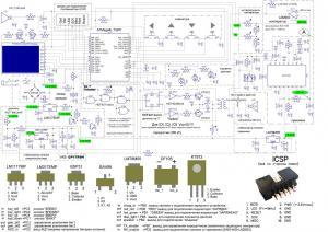 Cамодельный мини-эхолот на микроконтроллере Atmel ATMega8L и ЖКИ от мобильного телефона nokia3310