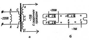 Сварочный трансформатор из понижающего типа ТСЗ (ТСЗИ)