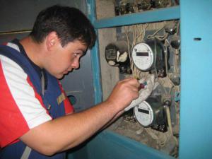 Установка и подключение электросчетчиков