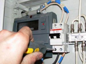 Как правильно установить электросчётчик