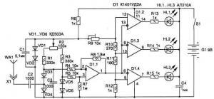 Радиочастотный искатель подслушивающих устройств